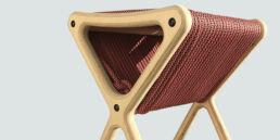 Tabouret design Tabcord - Made by bobine - 3